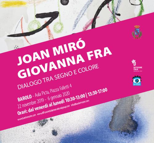 Joan Miró- Giovanna Fra<br> Dialogo tra segno e colore