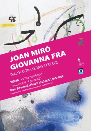 Joan Miró- Giovanna Fra<br> Dialogue between sign and color