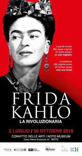 Frida Kahlo<br>The revolutionary