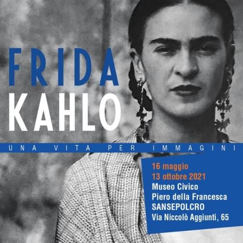 Frida Kahlo<br> Una vita per immagini